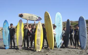 Primera escuela de surf de Chile