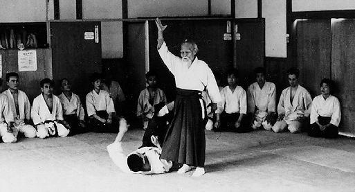 Ueshiba Morihei, fundador del Aikido.