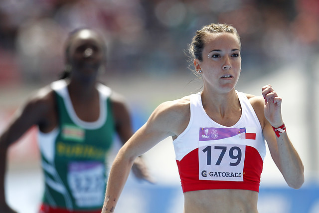 Maria Fernanda Mackenna, velocista chilena.
