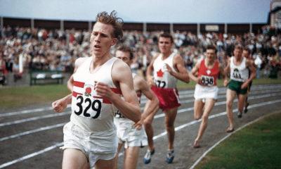 Roger Bannister, récord en 1954.